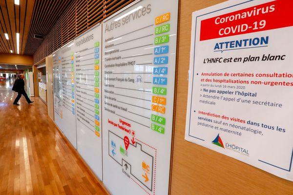 Plan blanc à l'hôpital du Nord Franche-Comté