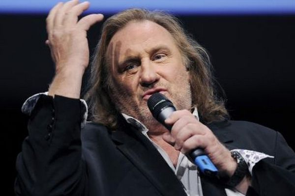 L'acteur Gérard Depardieu, ici en mai 2011.
