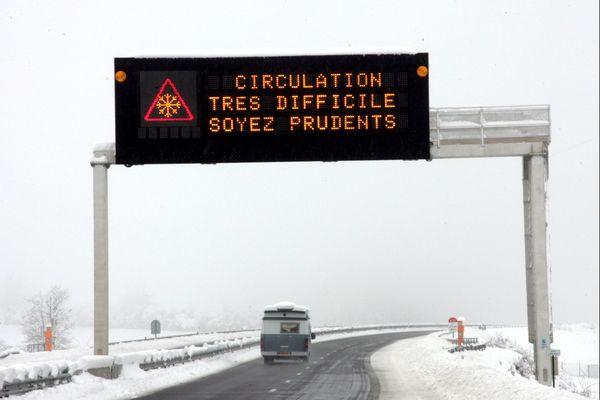 Des chutes de neige sont attendues sur les départements de l'Aveyron et de la Lozère.