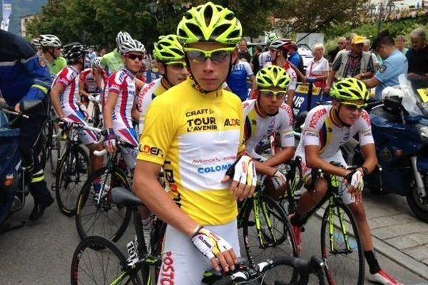 Miguel Angel Lopez vainqueur du Tour de l'Avenir 2014