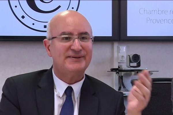 Nacer Meddah, le Président de la Chambre Régionale des Comptes Provence-Alpes-Côte d'Azur.