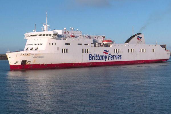 Le Connemara dans le port du Havre