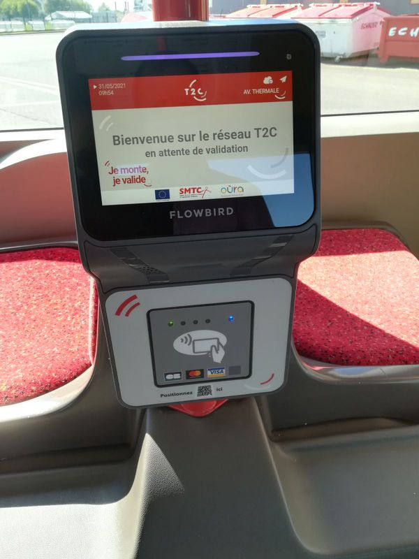 Depuis la mi-juin, de nouveaux valideurs ont fait leur apparition dans les transports en commun de Clerrmont-Ferrand.