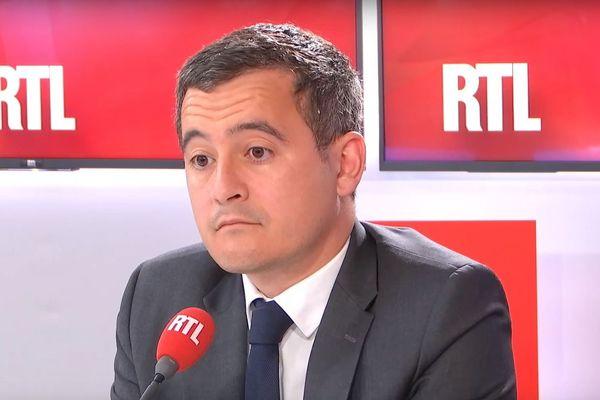 Gerard Darmanin ce jeudi matin sur RTL.