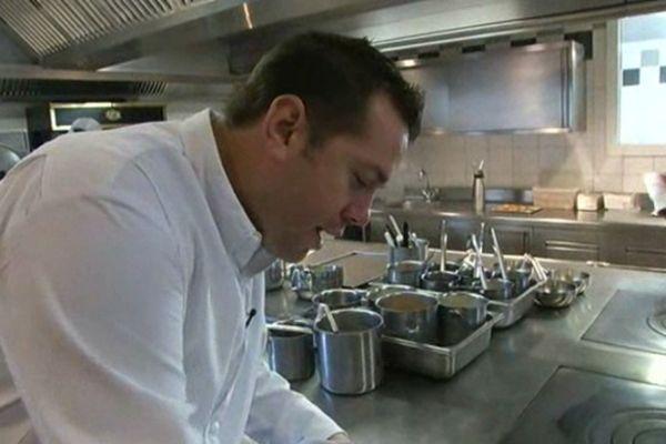 Arnaud Lallement, grand chef étoilé de l'Assiette Champenoise