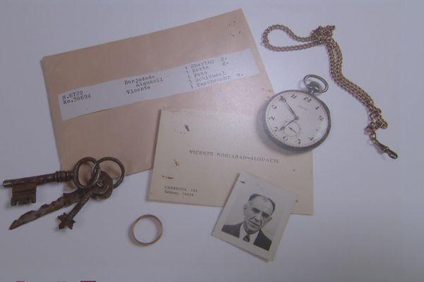 Des milliers d'objets sont exposés au musée de l'exil à La Jonquera, appartenant à des internés de camp de concentration - octobre 2020