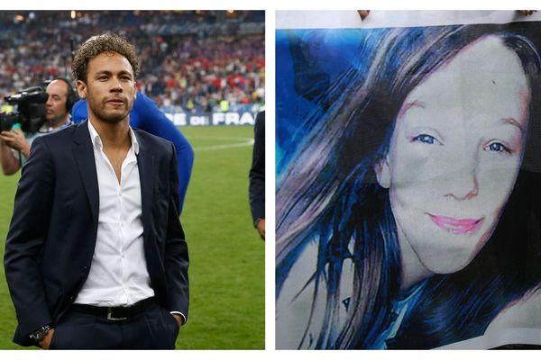 Le joueur du PSG Neymar a rendu hommage à Angélique, tuée à Wambrechies.
