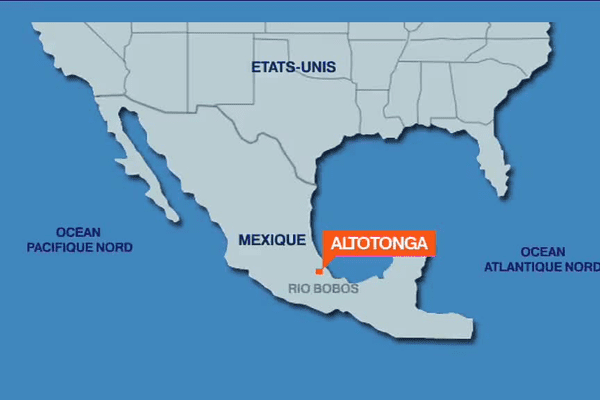 L'accident de kayak s'est produit au Mexique