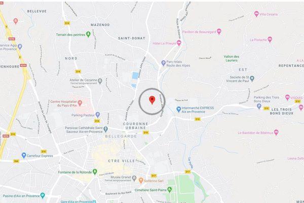 Aix-en-Provence, une nonagénaire retrouvée morte dans l'incendie de sa maison