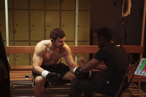 La boxe est l'un des sujets du film Merrick interprété entre autres par Mickaël Etrillard.