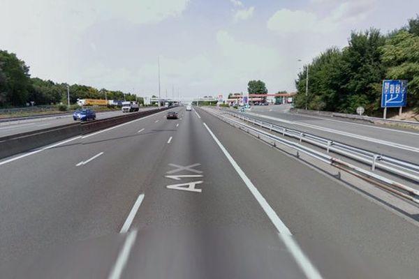 L'A1 est coupée à hauteur de Wancourt.