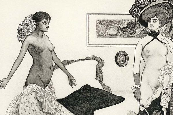 Le magnétisme du fouet ou Les Indiscrétions de Miss Doray, publié en 1902