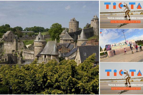 Tic Tak, l'actu des jeunes bretons au château de Fougères pour les journées européennes du patrimoine