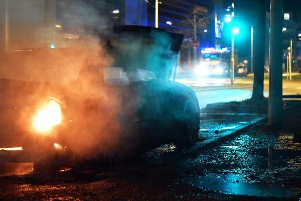 Une voiture incendiée à Strasbourg lors du nouvel an - PHOTO D'ILLUSTRATION