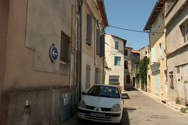 Rue Lubières, dans le centre-ville de Tarascon, où l'adolescent a été tué