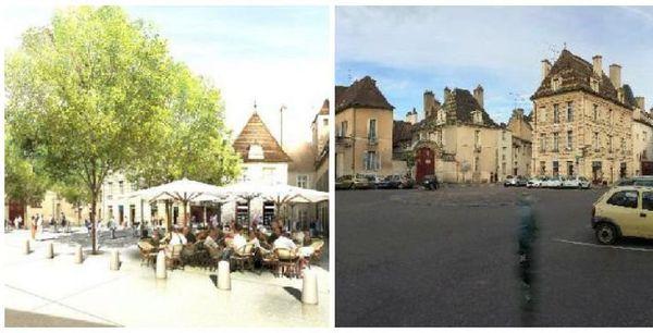 Le projet de piétonisation de la place des Cordeliers, à Dijon.