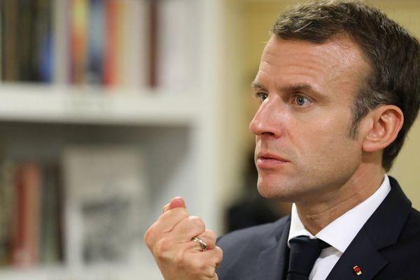 Emmanuel Macron le 7 novembre 2018