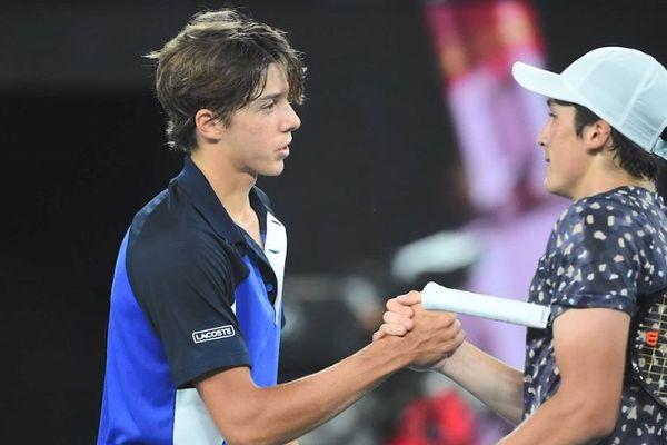 Arthur Cazaux a été battu par le Messin Harold Mayot, en finale de l'Open d'Australie junior, le 01 février 2020.