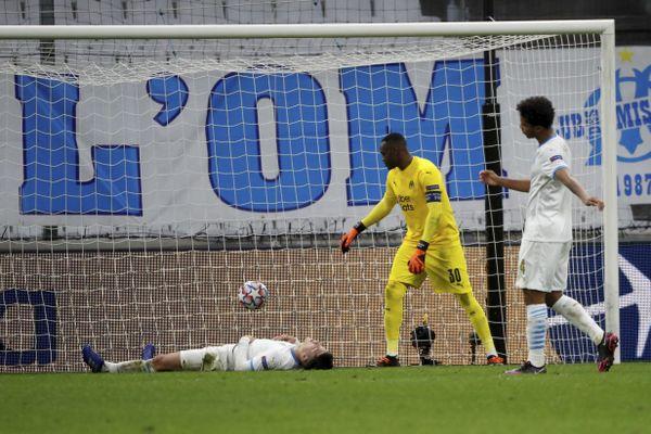 Le match Olympique de Marseille OM - Manchester City au Stade Velodrome le 27 octobre.