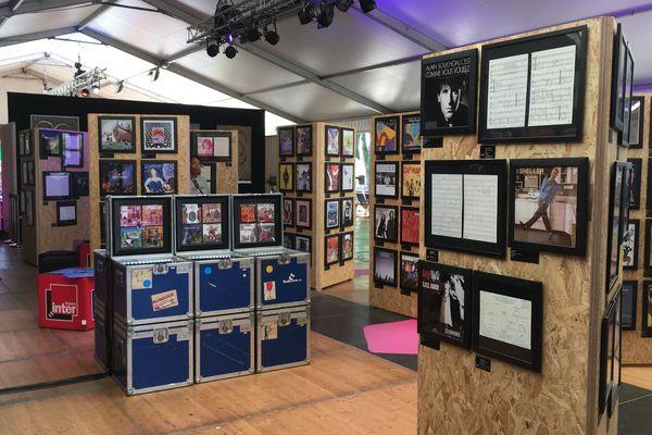 Exposition Européens ! en 2019 à Bourges, avec la discothèque de Radio France.