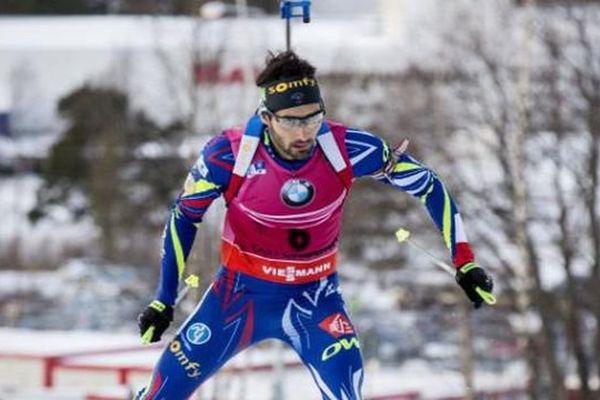Le Catalan Martin Fourcade a été impérial ce week-end à Östersund, en Suède - décembre 2015