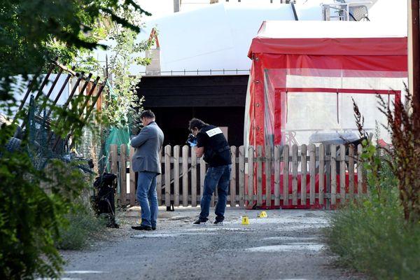 Le lieu où a été tué Christopher Aurier zone Thibaud à Toulouse