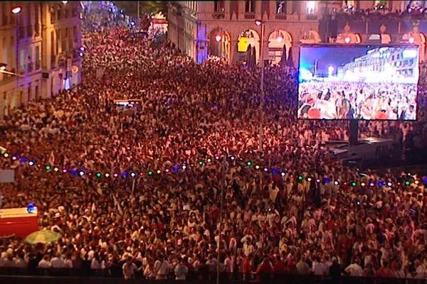 Les fêtes de Bayonne attirent chaque année près d'un million de personnes