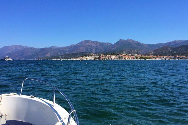 Cap sur le port de Saint-Florent (Haute-Corse)