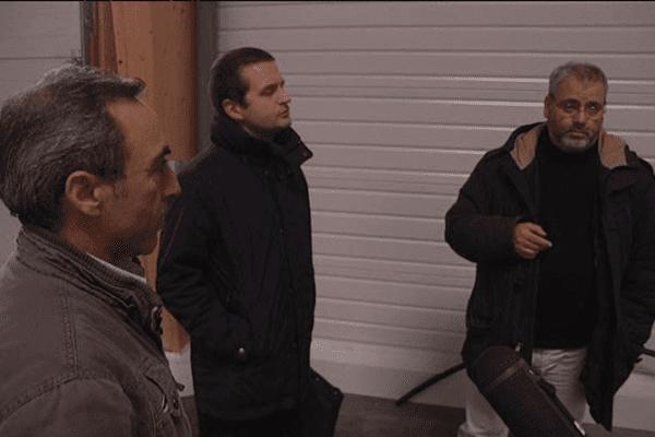 """Georges Viana, nouveau propriétaire de la marque """"Jeannette"""" visite un site aux portes de Caen pour implanter un site de production"""