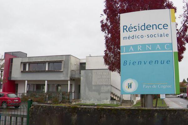 Ce dimanche 25 octobre 2020, on compte 68 cas positifs à la Covid-19 à l'Ehpad de la Résidence médico-sociale de Jarnac. 50 résidents et 18 membres du personnel.