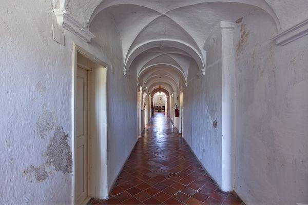 L'intérieur du couvent de Marcassu