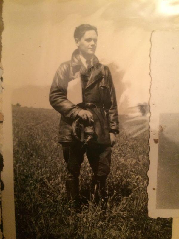 Le grand-père de Matthieu, pilote durant la Seconde Guerre mondiale