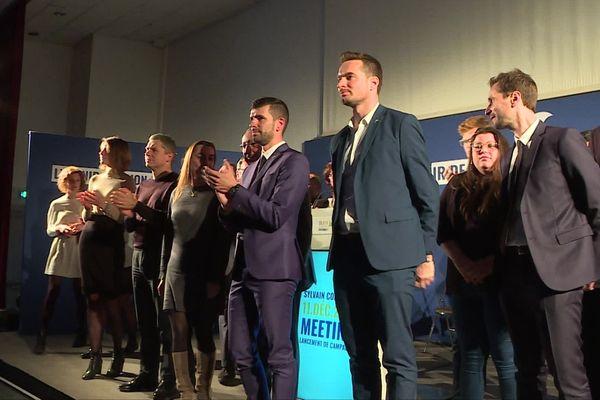 La liste soutenue par La République en Marche et l'UDI a lancé sa campagne mercredi lors d'un meeting.