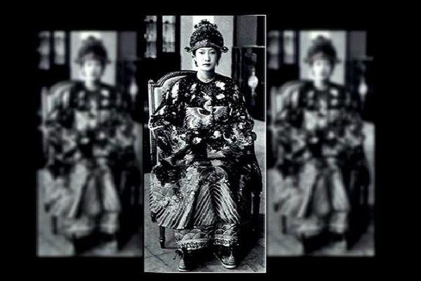 Sa majesté Nam Phuong, dernière impératrice d'Annam.