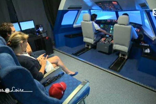 Simulateur de vol à Tours