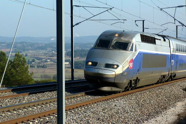 (Illustration) TGV.