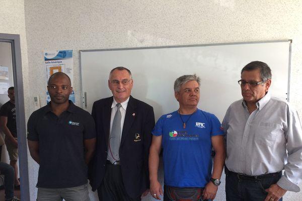 Visite à Formasat avec le comité régional de rugby