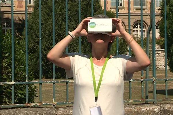 Aux Andelys, la réalité virtuelle permet de visiter des monuments fermés au public.