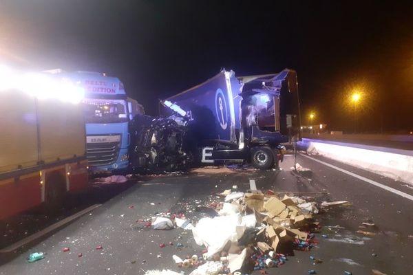 Un accident entre deux camions a fait trois blessés dont un grave cette nuit près de Montpellier - 16 juin 2021