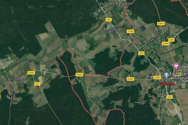 L'accident s'est produit entre Chaource et Les Granges dans l'Aube