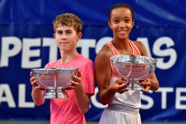 Les deux vainqueurs 2021, Maxim Mrva et Mathilde Ngijol-Carré.