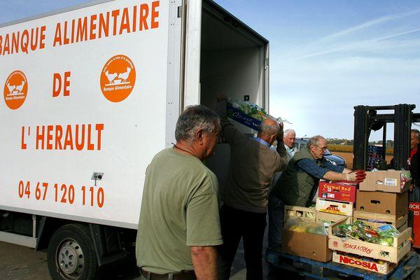 La Banque Alimentaire de l'Hérault vient en aide à 46000 bénéficiaires.