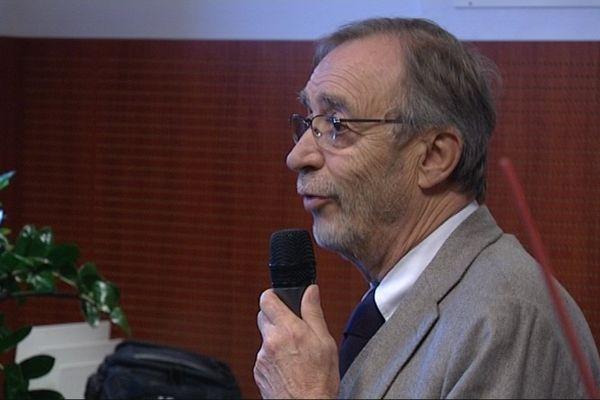 Michel Seydoux lors des voeux aux journalistes ce mardi.
