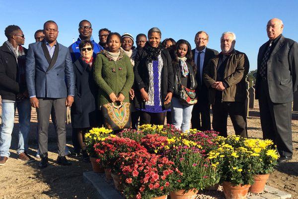 Une quinzaine de personnes réunies pour rendre hommage aux indigents à Yzeure
