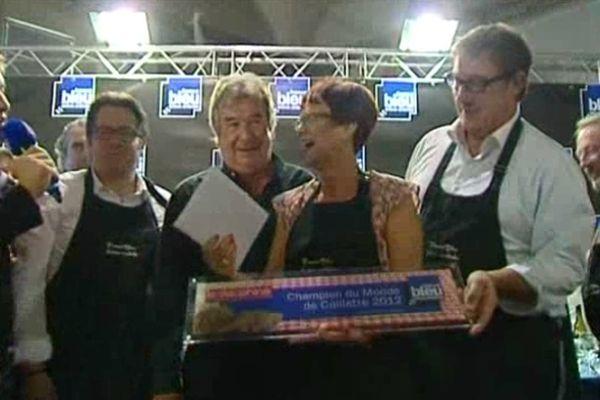 Le titre de championne du monde pour Annie Bouty