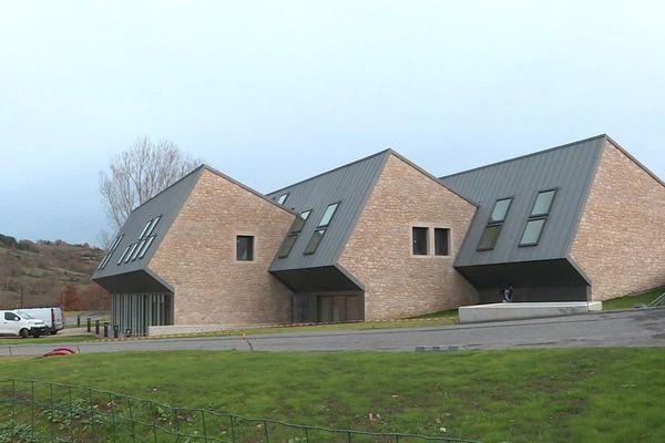 La future maison de santé de Nant dans l'Aveyron