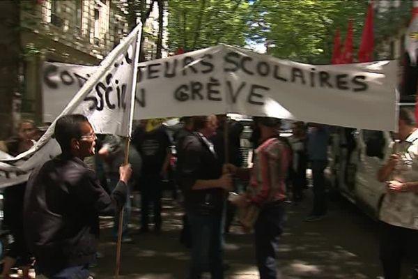 Les employés en grève ne veulent plus de la précarisation de leurs emplois