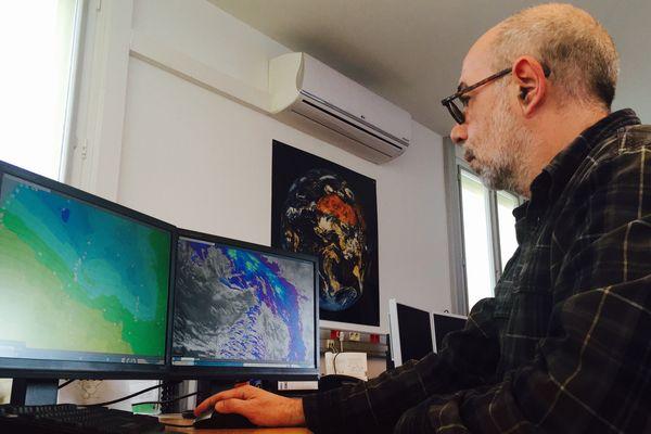 Les météorologues de Poitiers - Biard surveillent l'évolution de la tempête Zeus et son passage sur notre région.