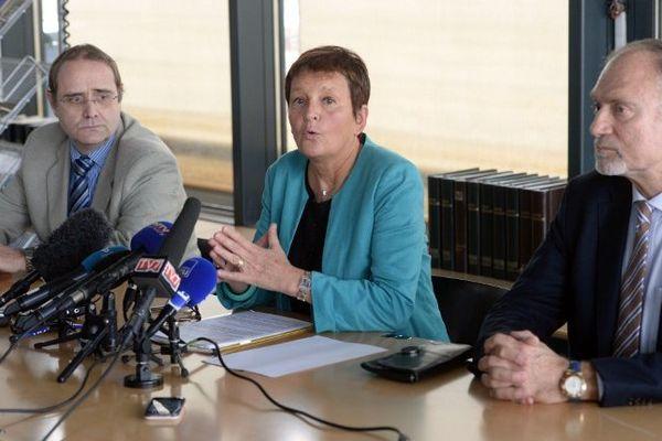 Point presse du Procureur de Bordeaux Marie-Madeleine Alliot.
