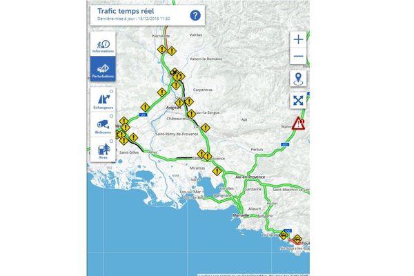 Situation des blocages des gilets jaunes sur les autoroutes
